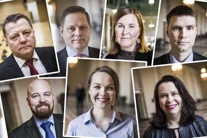 Kolme kyllä, kaksi ei, kaksi poissa: Heikki Autto ja Kaisa Juuso vastustavat EU-pakettia – Kulmuni karanteenissa, Mustajärvi sairaalassa