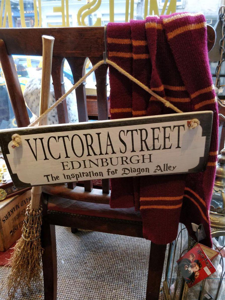 Victoria Streetillä sijaitseva velhokauppa Diagon House avasi ovensa viime vuonna.
