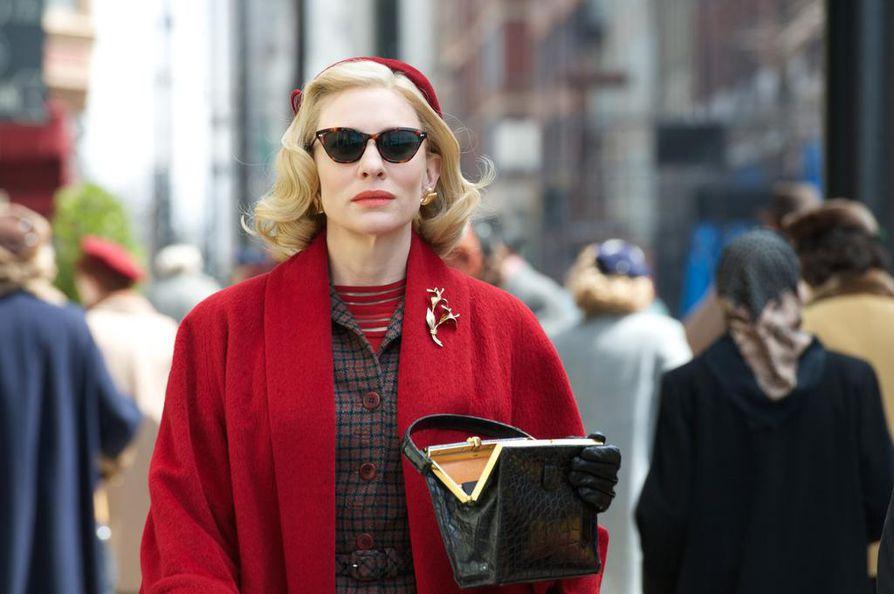 Cate Blanchett on Carol Aird Patricia Highsmithin romaaniin perustuvassa elokuvassa.