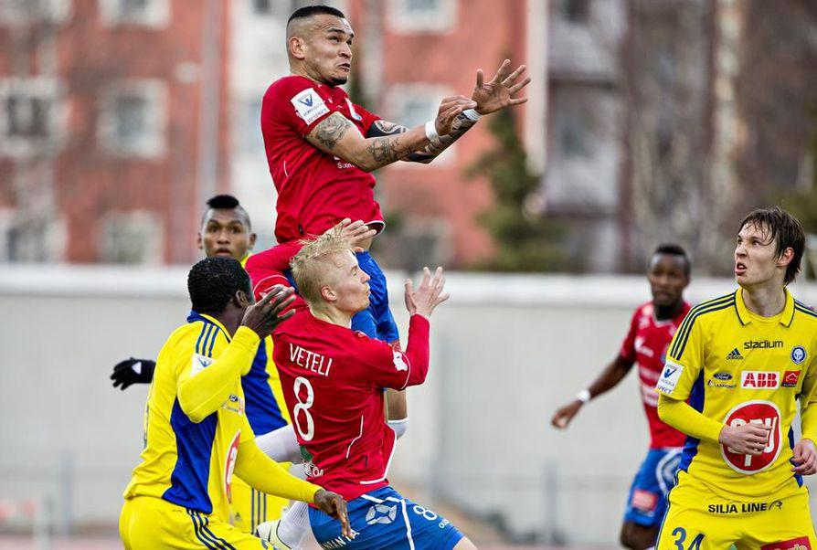 PS Kemi ja HJK ovat kohdanneet aiemminkin Oulussa.