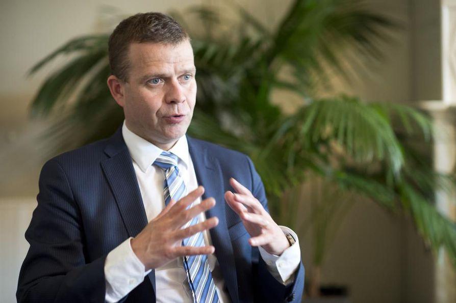 Valtiovarainministeri Petteri Orpo (kok.).