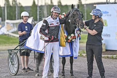 Mika Forss ajoi Antonio Tabacin Norrbottens Stora Pris -voittoon