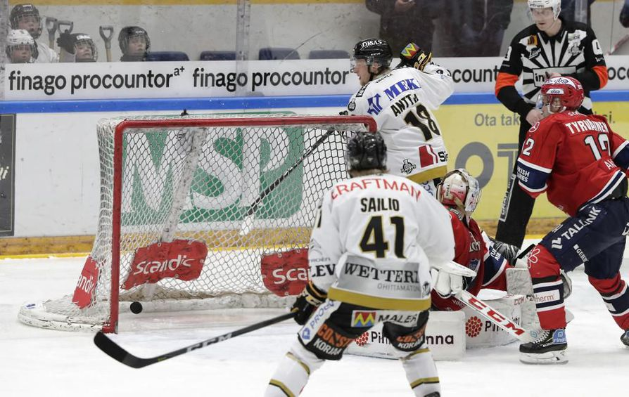 Kärpät - HIFK, 1. välierä. 1-2