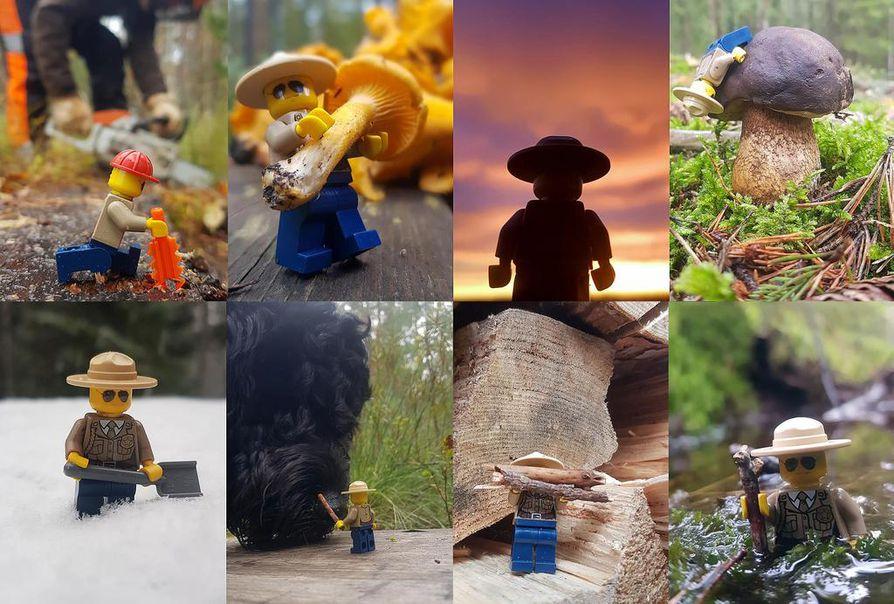 Huoltotöitä, luontoretkeilyä ja silkkaa hölmöilyä. Tätä kaikkea mahtuu pikkurangerin seikkailuihin Kurjenrahkan kansallispuistossa.