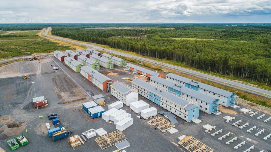 Fennovoima valmistelee uuden ydinvoimalan rakentamista Pyhäjoelle.