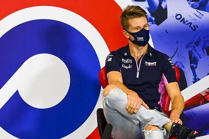 Perezin koronatesti edelleen positiivinen, Hülkenberg jatkaa Racing Pointin ratissa