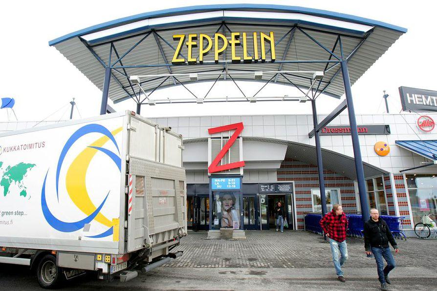 Kauppakeskus Zeppelin viettää 20-vuotissynttäreitä.