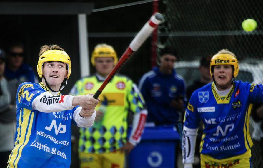 Kasperi Salmela (2) on saanut alkukauden aikana vastuuta Simon Kirin joukkueessa. Nyt edessä on paluu Lippoon.
