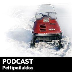 Peltipailakka-podcast: Moottorikelkkailun turvallisuus ja turvattomuus – Suurin osa onnettomuuksista on suhteellisen lieviä