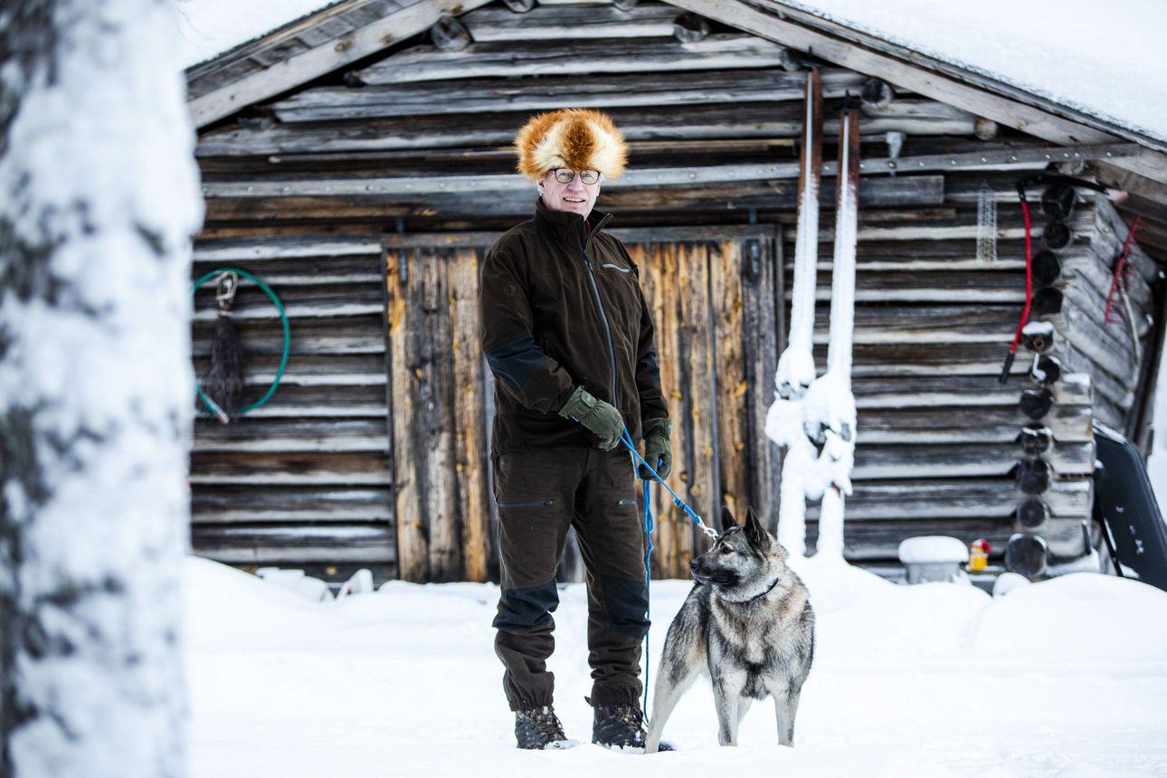 """Lapin vuoden erästäjälle saalis ei ole enää pääasia: """"Löysään koiran irti ja nakkaan päivärepun selkään"""""""