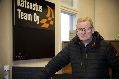 """Katsastusasema tuli Liminkaan – """"Kaikkea ei tarvitse hakea kaupungista"""", sanoo yrittäjä Marko Herranen"""