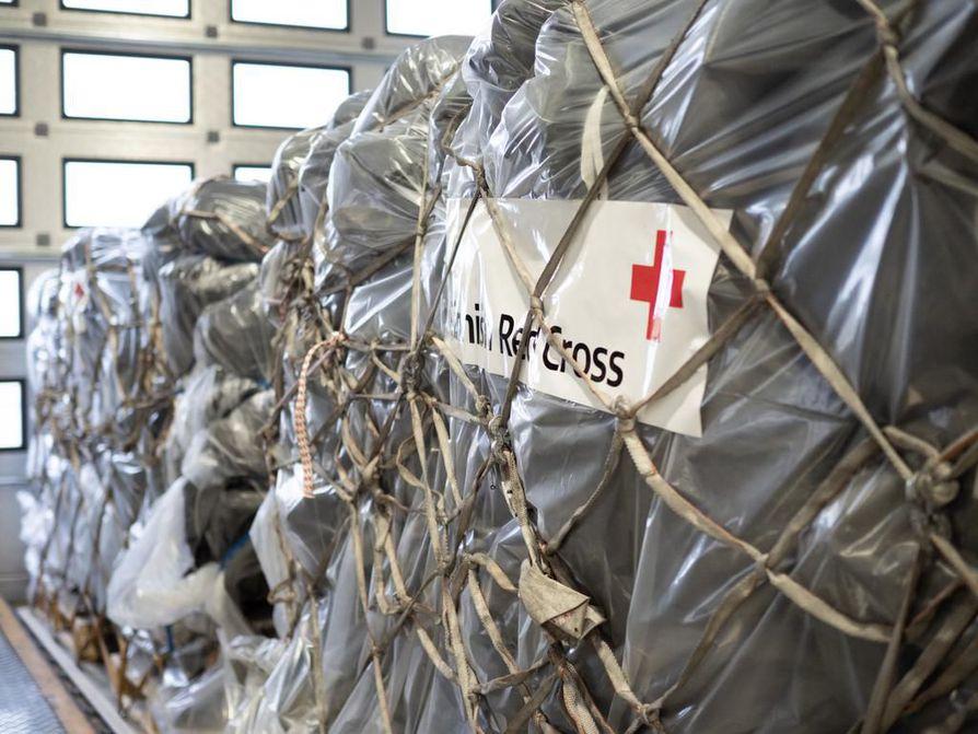 Punainen Risti toimittaa tänään konkreettista valmiusapua koronaepidemiaan valmistautuvaan Hyvinkään sairaalaan.