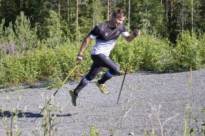 Loppuneesta hiihtourasta tulikin sodankyläläiselle Aleksi Harjulalle Oulussa ammatti