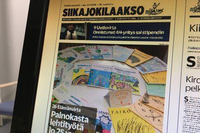 Siikajokilaakso ilmestyy tänään Siikalatvalla päiväpostin mukana – näköislehti  jatkossa luettavana jo myöhään keskiviikkoiltana