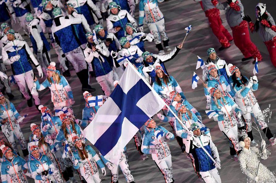 Mäkihyppääjä Janne Ahosella on vuorossa seitsemännet olympialaiset.