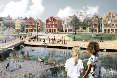 Tällaisia ovat Oulun vuoden 2025 asuntomessujen suunnittelukilpailun ehdotukset