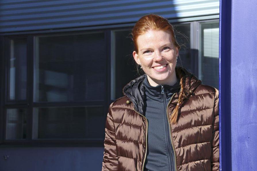 OsVa-kasvatti Katja Kylmäaho on Suomen maajoukkueen kakkospassari.