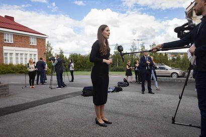 """Pääministeri Sanna Marin tapasi metsäteollisuuden johtoa – """"Toimintaympäristön tulisi olla investoinneille suotuisa"""""""