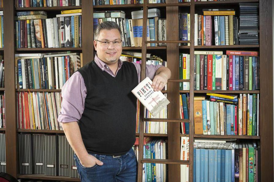 Tommi Kinnusen teos Pintti sai kolmannen kerran jaetun Botnia-palkinnon.