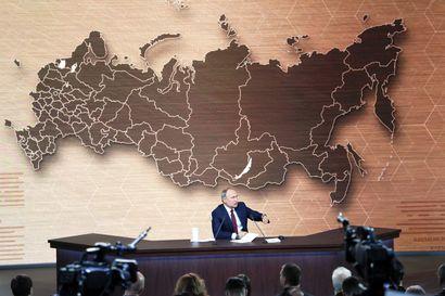 Putin vakuuttaa Venäjän olevan valmis myymään kaasua Ukrainalle alennetuin hinnoin vastedeskin – Venäjän johtaja vastaa toimittajien kysymyksiin tuntien ajan