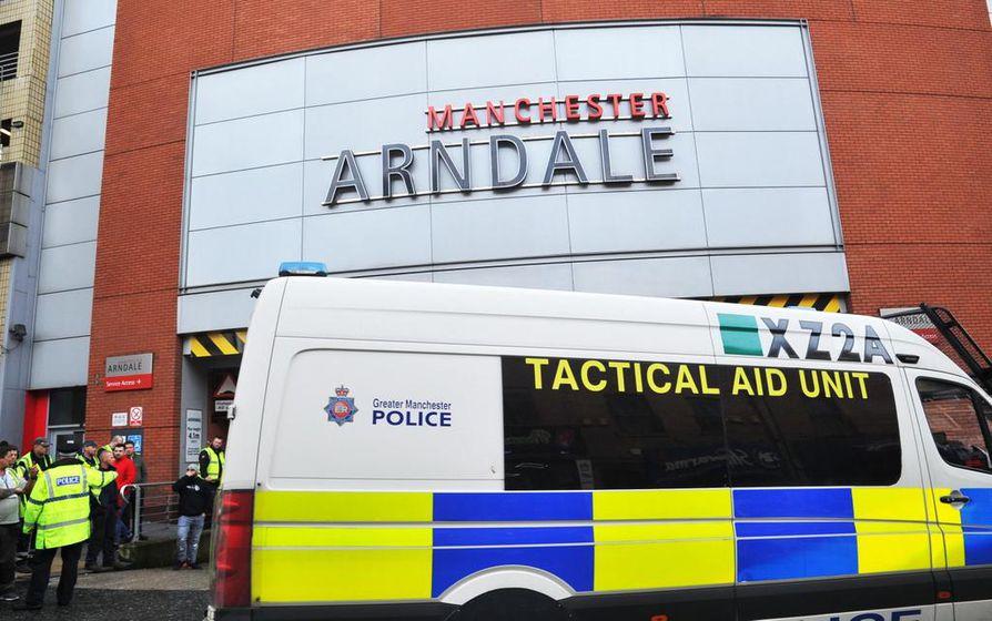 Perjantainen hyökkäys tapahtui Arndale-ostoskeskuksessa Manchesterin keskustassa.