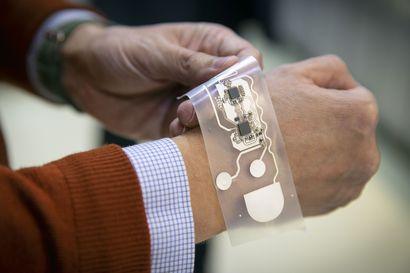 Digitaalinen älylaastari käyttöön lähivuosina – VTT:llä Oulussa kehitetään puettavaa elektroniikkaa, jota on mukava käyttää
