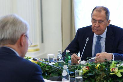 Pietarissakin kireää pakkasta – ulkoministeri Lavrov kaatoi EU:n niskaan kaikki synnit mutta säästi pahoilta puheilta ystävällismielisen naapurin Suomen