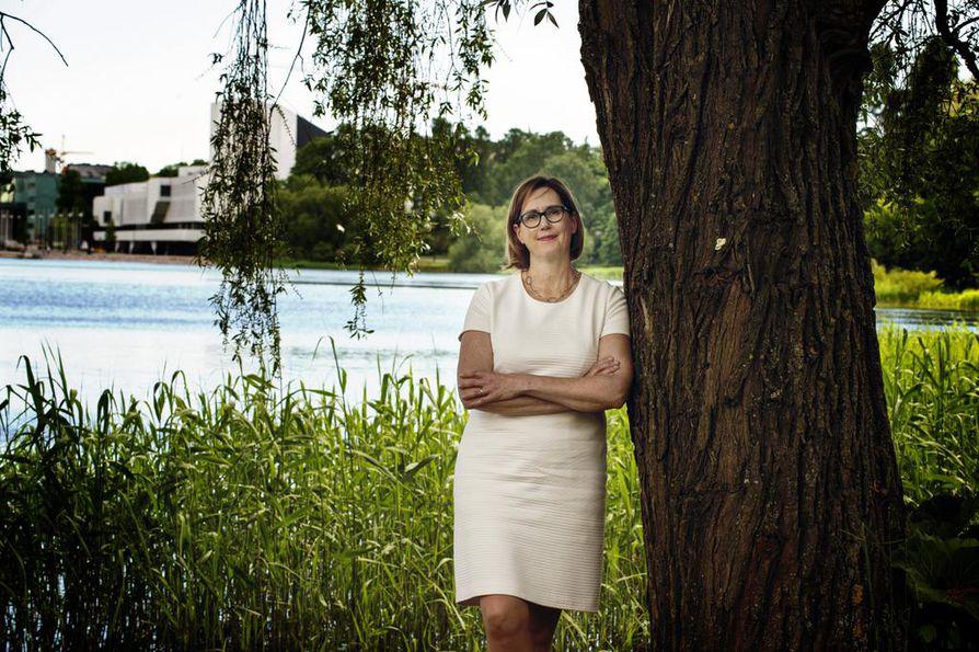 Tuula Haatainen nähdään SDP;n presidenttiehdokkaana ensi talvena käytävissä presidentinvaaleissa.