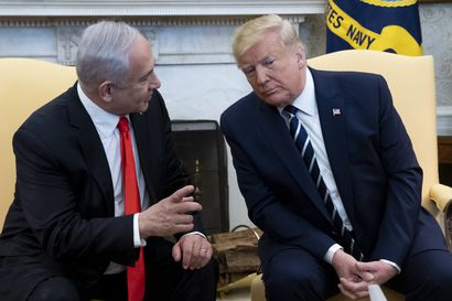 Trump: Palestiinalle itsenäinen valtio, Israelin miehittämät siirtokunnat tunnustetaan, Palestiinalle pääkaupunki Itä-Jerusalemiin – Palestiinalaiset tyrmäsivät ehdotukset