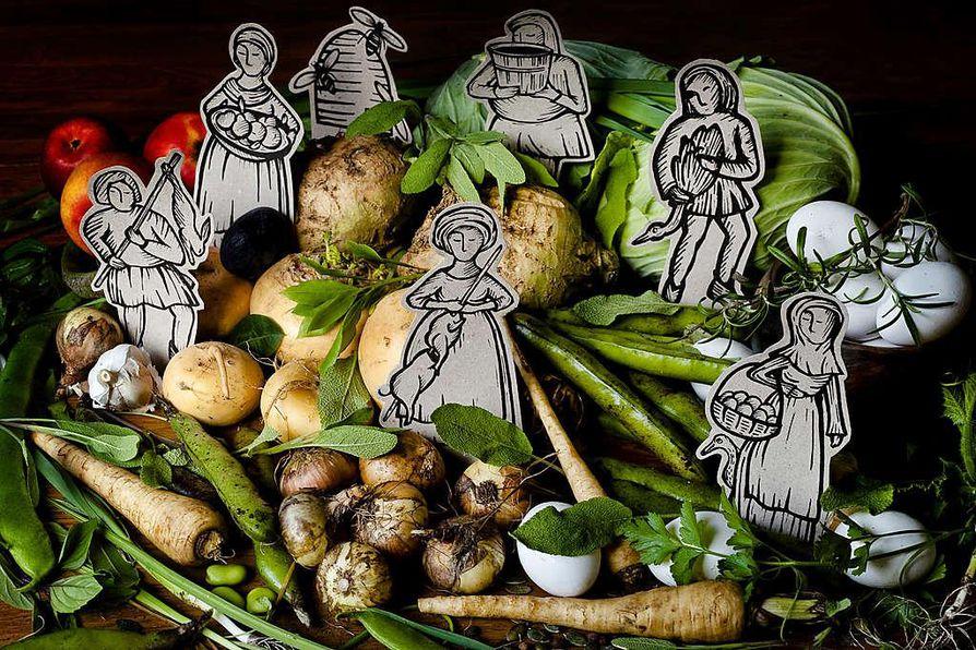 Keskiajalla arvostettiin hyvää ruokaa siinä missä nykyisinkin, jopa enemmän. Loppukesä ja syksy ovat antoisaa aikaa  kurkistaa vuosisatojen taakse ja järjestää syyspidot keskiajan hengessä.
