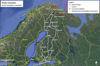Kuusamosta liittymä mannertenväliselle datamotarille? Kajaani on aktivoitunut: myös Oulussa ja Rovaniemellä ollaan hereillä