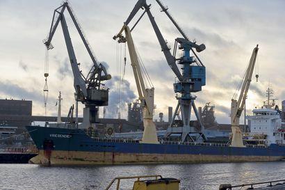 SSAB:n Raahen terästehdas kokeilee ensimmäisenä Suomessa biokaasua laivakuljetusten polttoaineena – tavoitteena päästöjen vähentäminen