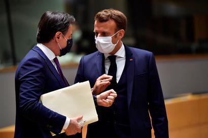 """Italian pääministeri laskee: """"Tukipaketista 28 prosenttia kohdistuu Italialle"""" – suurmaiden johtajat kehuvat EU-ratkaisua"""