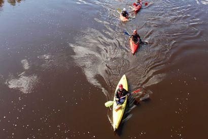 Veden vähyys luo haasteita Siikajoki-melojille