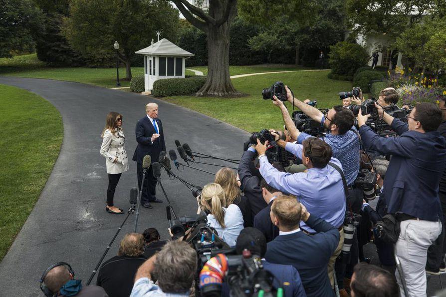 Donald Trump väitti Iranin rikkoneen useasti ydinsopimusta.