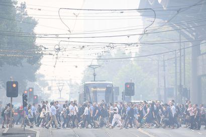 Australian jättipalojen savut matkustavat maailman ympäri