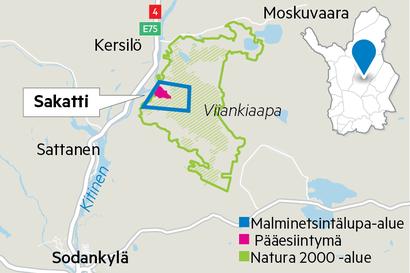 Lähtölaukaus Sakatin kaavoitukselle – kaivoshankkeen yksityiskohdat tarkentuvat keväällä