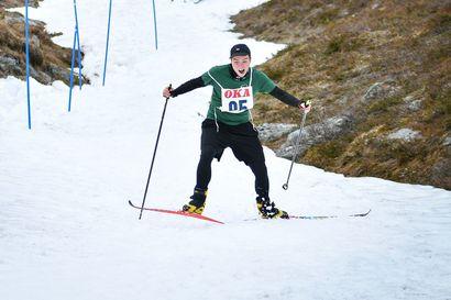 Saanalla suksi juhannusaattona 101 hiihtäjää