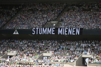 Pahvikatsojat todistivat Lukas Hradeckyn Leverkusenin voitonjuhlia ja nousua kolmossijalle