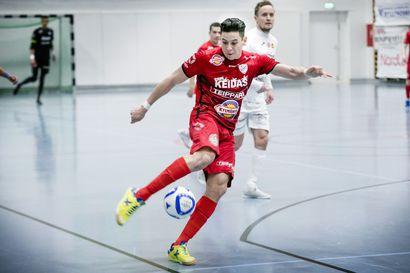 Futsalissa ei mitaleita jaeta eikä palkintorahoja myönnetä