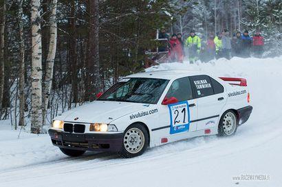 Harri Kihlman ja Jyrki Tamminen R-rallicupin osakilpailuun Piippolaan