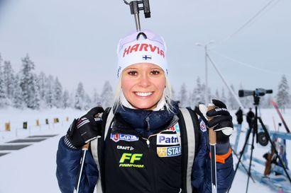 Mari Eder isoin tähti kahdeksan urheilijan ampumahiihtomaajoukkueessa