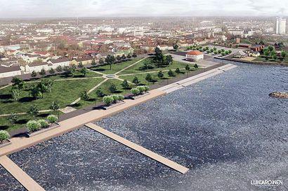 Pikkulahden virkistysalueen rakentaminen alkaa rantapuistosta vielä tänä syksynä