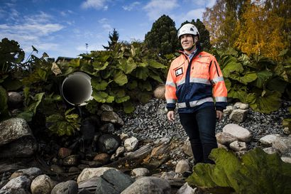 Pullonkaulaan lisää kapasiteettia – Tästä putkesta Rovaniemen hulevesiverkosto purkautuu Kemijokeen