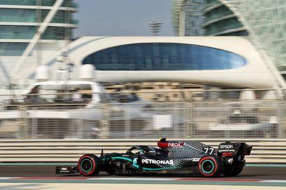 """Verstappen ryösti paalupaikan Mercedes-kaksikolta - Bottas kakkosruutuun: """"Auto ei ollut aivan tasapainossa"""""""