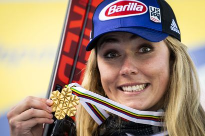 Mikaela Shiffrinille uran kuudes MM-kulta - alppiyhdistetyn ratkaisi pujottelu