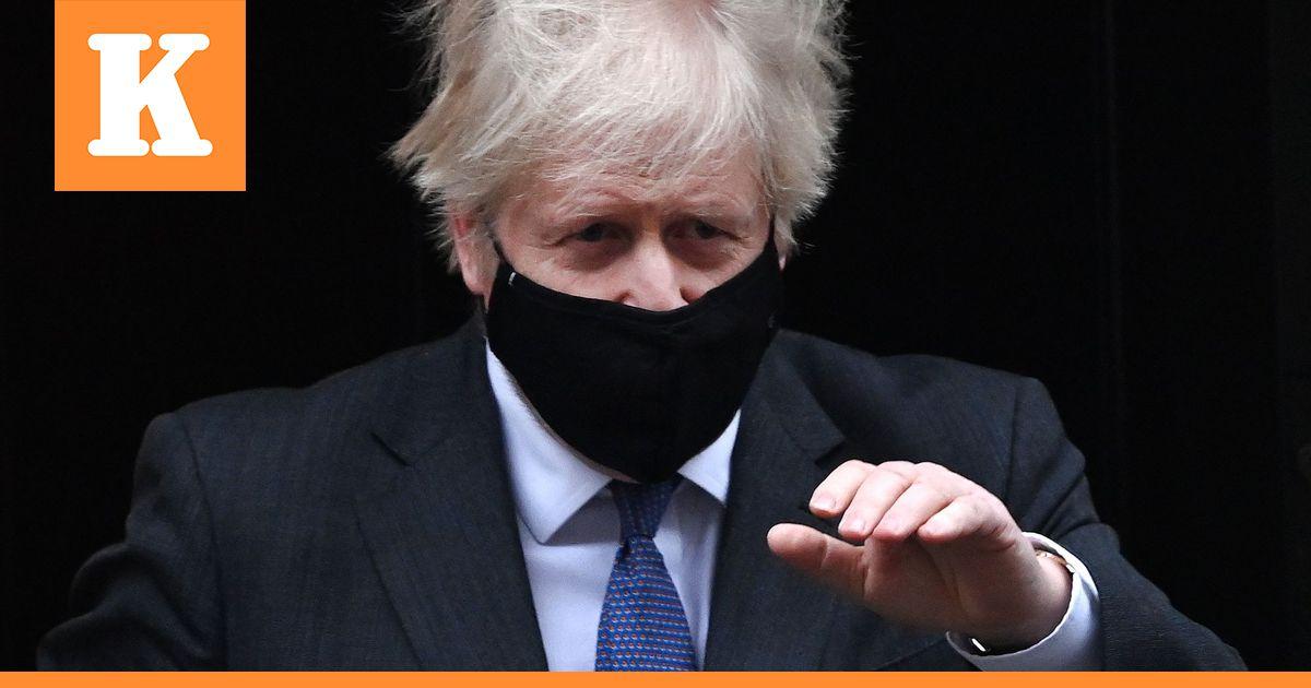 Boris Johnssonin mukaan koronaviruksen brittimuunnos voi olla...