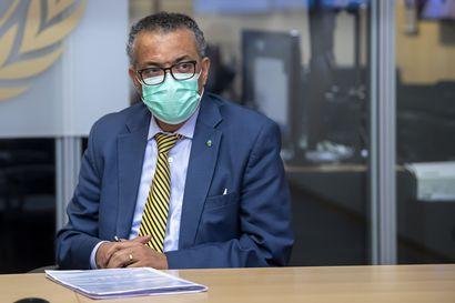 WHO:n johtaja toivoo, ettei pandemian vuoksi tehtyjä uhrauksia haaskattaisi loppuvuoden juhlallisuuksien vuoksi