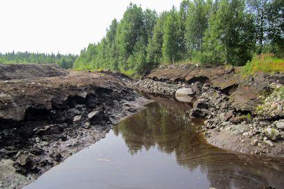 Turvetuotanto lisää tulvariskejä