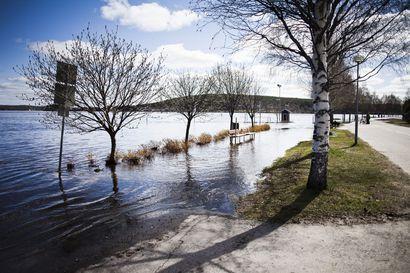 Miten paljon Lapin joet tulvivat tänä keväänä?